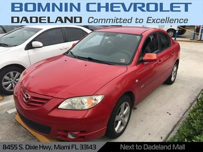 2005 Mazda Mazda3 s for sale VIN: JM1BK123851307286