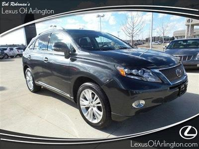 2010 Lexus RX 450h  for sale VIN: JTJBC1BA1A2407498