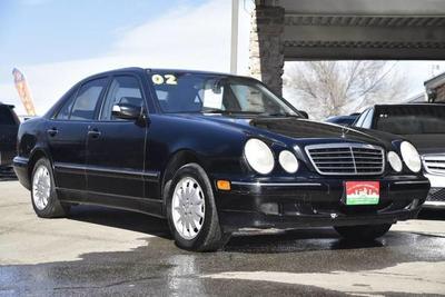 2002 Mercedes-Benz E-Class  for sale VIN: WDBJF82J12X071143