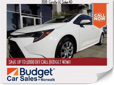 Toyota Corolla 2020 for Sale in Norwalk, CA