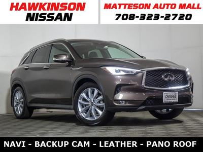 INFINITI QX50 2019 a la venta en Matteson, IL