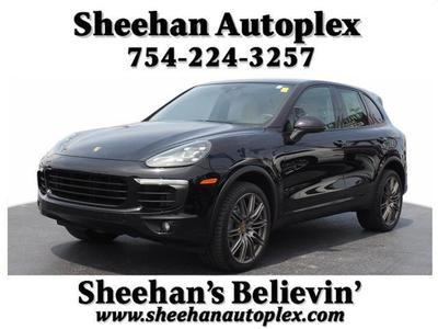 2016 Porsche Cayenne S for sale VIN: WP1AB2A22GLA96277