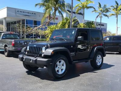 2016 Jeep Wrangler Sport for sale VIN: 1C4AJWAG0GL242182