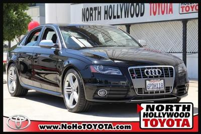 2011 Audi S4  for sale VIN: WAUBGAFL7BA002186