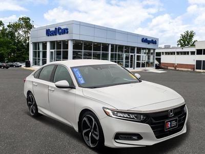 2018 Honda Accord Sport for sale VIN: 1HGCV1F31JA099768
