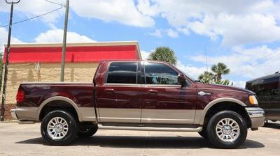 2001 Ford F-150 King Ranch for sale VIN: 1FTRW08L21KB32686