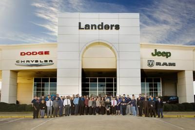 Landers Dodge Chrysler Jeep RAM Fiat Image 1