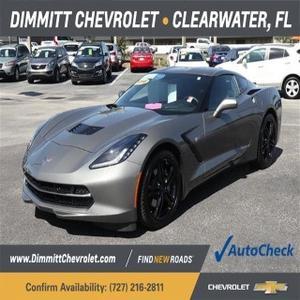 2016 Chevrolet Corvette  for sale VIN: 1G1YC2D72G5116559