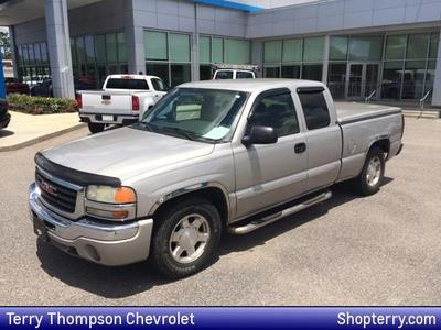 2004 GMC Sierra 1500 SLE Extended Cab for sale VIN: 2GTEC19T541155329