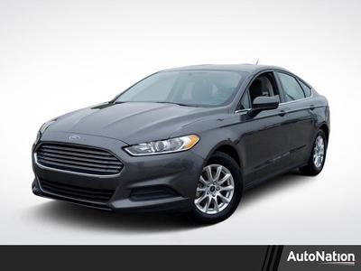 2016 Ford Fusion S for sale VIN: 3FA6P0G78GR350498