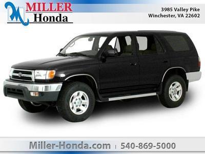 2000 Toyota 4Runner Limited for sale VIN: JT3HN87RXY9035017