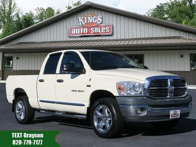 2007 Dodge Ram 1500 SLT Quad Cab for sale VIN: 1D7HU18267J610479