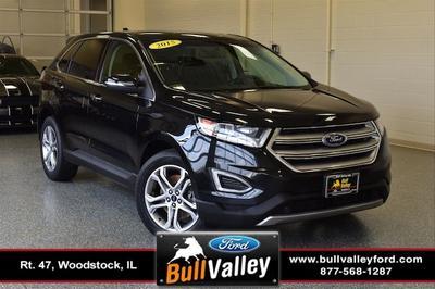 2015 Ford Edge Titanium for sale VIN: 2FMTK4K90FBB25691