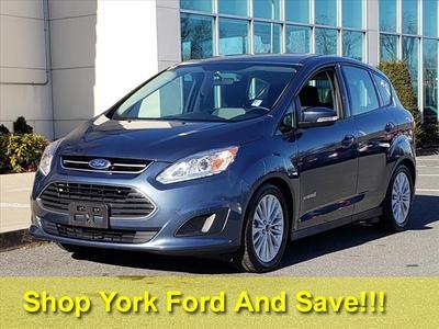 2018 Ford C-Max Hybrid SE for sale VIN: 1FADP5AU6JL105224