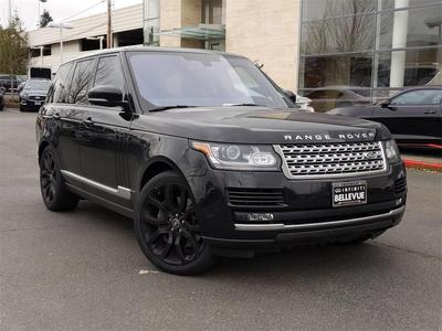 Land Rover Range Rover 2016 for Sale in Bellevue, WA