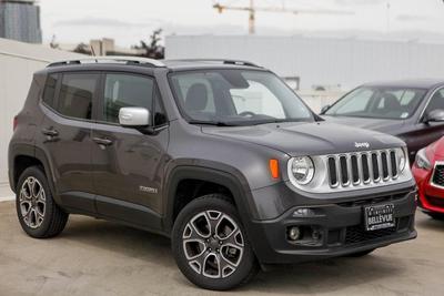 2016 Jeep Renegade Limited for sale VIN: ZACCJBDT0GPD10325