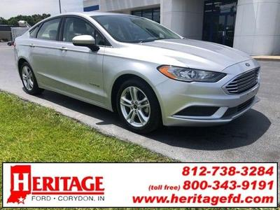 2018 Ford Fusion Hybrid SE for sale VIN: 3FA6P0LU1JR173599