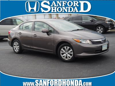 2012 Honda Civic LX for sale VIN: 19XFB2F5XCE011036