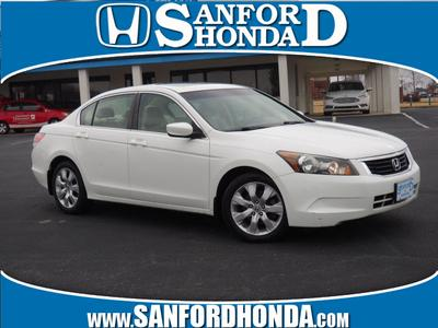 2010 Honda Accord EX-L for sale VIN: 1HGCP2F80AA186590