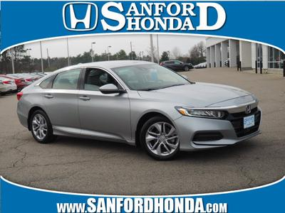 2018 Honda Accord LX for sale VIN: 1HGCV1F1XJA123130