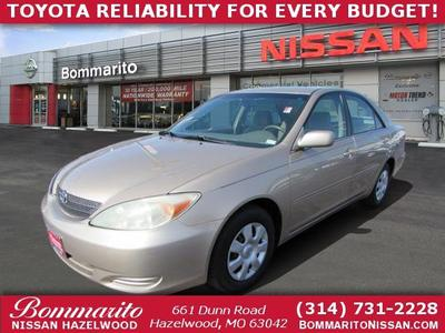 2002 Toyota Camry LE for sale VIN: 4T1BE32K12U081611