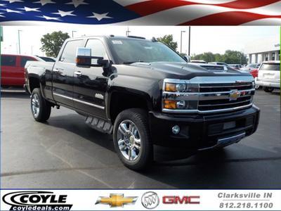 New 2019 Chevrolet Silverado 2500 High Country Crew Cab Pickup In Clarksville In Near 47129 1gc1kuey5kf280275 Pickuptrucks Com
