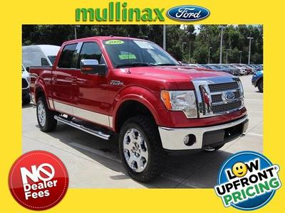 2009 Ford F-150 Lariat SuperCrew for sale VIN: 1FTPW14V39FB39543