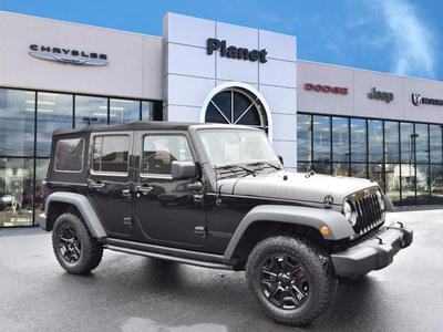 Jeep Wrangler Unlimited 2015 a la venta en Franklin, MA