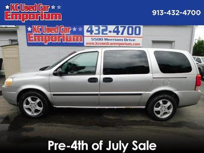 2007 Chevrolet Uplander  for sale VIN: 1GNDV23117D111251