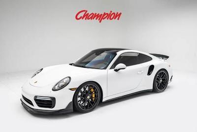 Used 2018 Porsche 911 Turbo S Coupe In Pompano Beach Fl Autocom Wp0ad2a95js156123