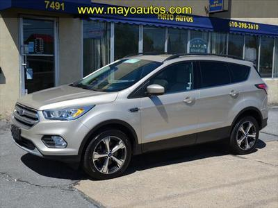 2017 Ford Escape SE for sale VIN: 1FMCU9GD2HUA18188