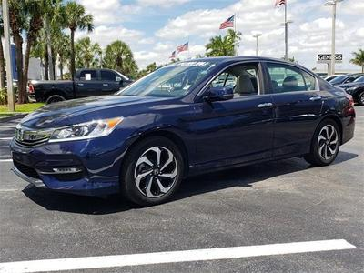 2017 Honda Accord EX for sale VIN: 1HGCR2F70HA055607