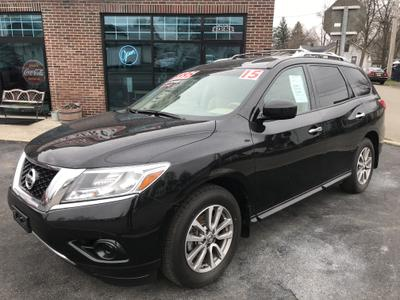 2015 Nissan Pathfinder S for sale VIN: 5N1AR2MM5FC688177