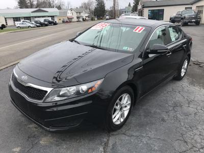 2011 KIA Optima LX for sale VIN: KNAGM4A79B5110604