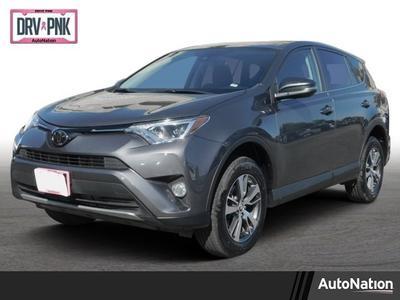 2018 Toyota RAV4 XLE for sale VIN: 2T3RFREV2JW816915