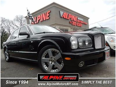 2003 Bentley Arnage T for sale VIN: SCBLF34FX3CX08905