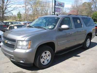 2007 Chevrolet Suburban 1500 LT for sale VIN: 1GNFK16357J243214
