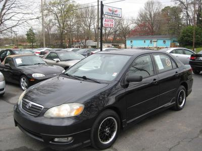 2005 Toyota Corolla S for sale VIN: 1NXBR32E95Z446488