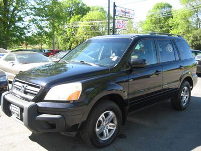 2004 Honda Pilot EX-L for sale VIN: 2HKYF18564H585473