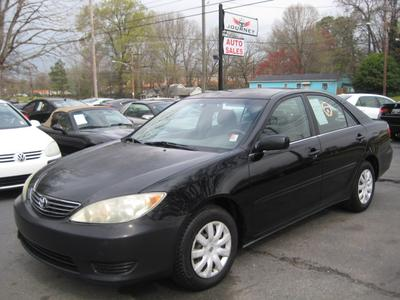 2005 Toyota Camry LE for sale VIN: 4T1BE32K85U048397