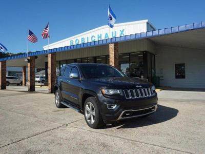 2014 Jeep Grand Cherokee Overland for sale VIN: 1C4RJECG4EC221388