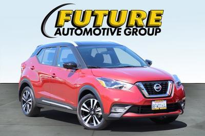 2018 Nissan Kicks SR for sale VIN: 3N1CP5CU7JL510678