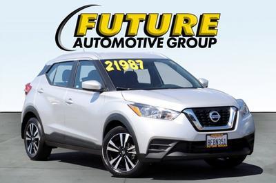 2018 Nissan Kicks SV for sale VIN: 3N1CP5CU7JL516237