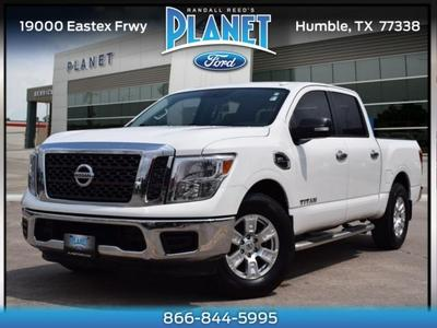 Nissan Titan 2017 for Sale in Humble, TX