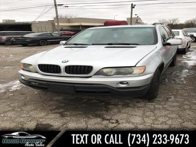 2002 BMW X5 4.4i for sale VIN: 5UXFB33522LH31741