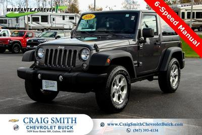 Jeep Wrangler 2016 for Sale in Galion, OH