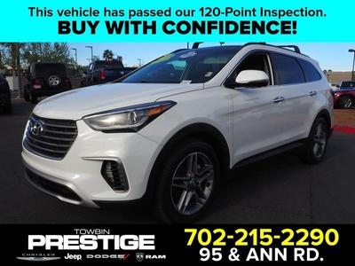 2018 Hyundai Santa Fe SE for sale VIN: KM8SR4HF9JU287035
