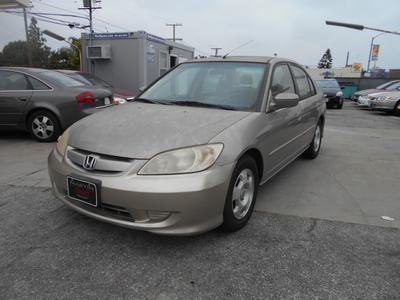 2005 Honda Civic Hybrid  for sale VIN: JHMES96625S012810