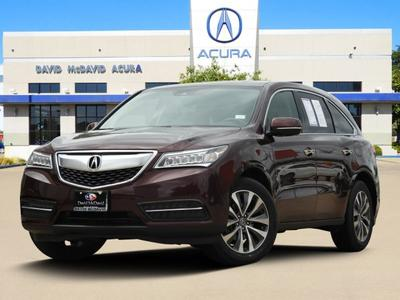 2016 Acura MDX 3.5L w/Technology Package for sale VIN: 5FRYD4H42GB040368