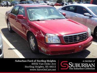 2004 Cadillac DeVille  for sale VIN: 1G6KD54Y84U158954